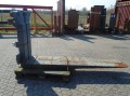 FORK Fitted with Rolls, Kissing 28.000kg@1200mm // 2400x220x120mm
