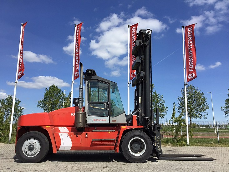 4 Whl Counterbalanced Forklift >10tDCE 150-12