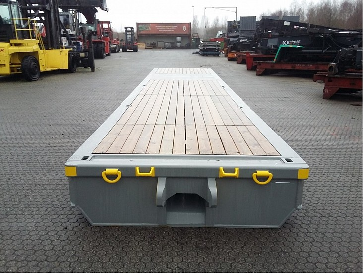 Lowbed Roll TrailerRR-GC-40FT-100T low