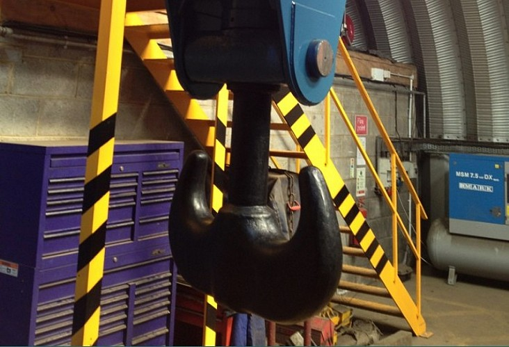 AttachmentCRANE HOOK REACHSTACKER Lifting Adaptor