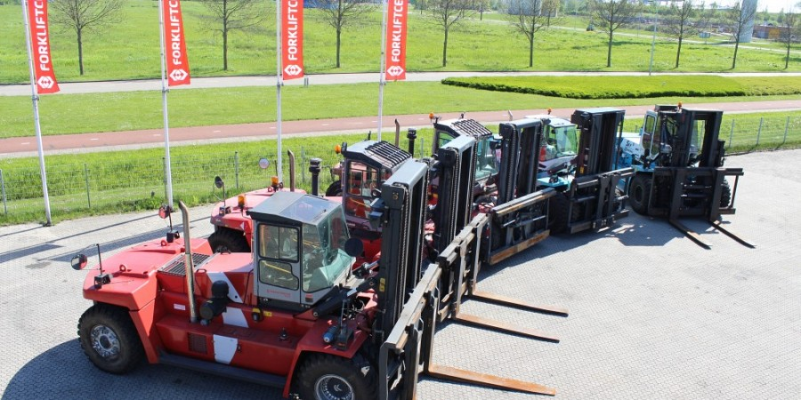 Heavy Forklift Trucks & Port Equipment