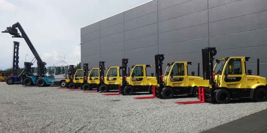 Forklifts in all sizes !